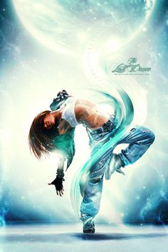 25 Awesome Dance Photo Manipulation | Photography Blog kinda like the swirl wrapped around her body
