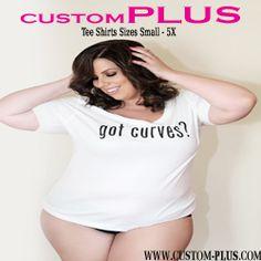 Plus Model Magazine Curvy Fashion, Plus Size Fashion, Fat Fashion, Personalized Tee Shirts, Conservative Outfits, Model Magazine, 2016 Fashion Trends, Thing 1, Plus Size Kleidung