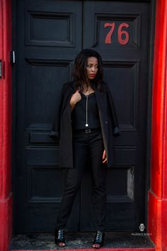 Yes you can get away with wearing a slip dress at the office. Dress (worn as a vest) and pants at mrp.com Black Closet, Every Woman, Vest, Pants, Jackets, How To Wear, Dresses, Women, Fashion