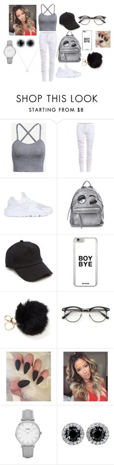 """Outfit#7"" by daviscarmen on Polyvore featuring NIKE, Chiara Ferragni, rag & bone and Topshop"
