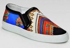 Givenchy Women's Canvas Slip On Sneakers