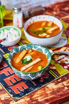 Izgalmas mexikói leves tortillával | Street Kitchen