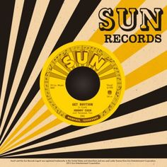 Johnny Cash Get Rhythm I Walk The Line Sun Records Reissue $6 - Third Man Records