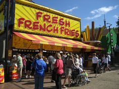french fries at the great minnesota get together