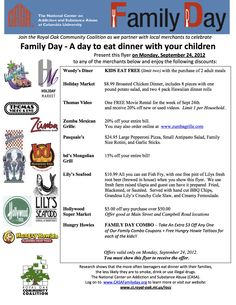 Family Day - Royal Oak