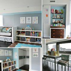 Storage, shelves