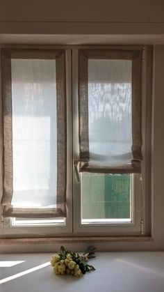 Curtains And Draperies, Diy Curtains, Sliding Door Window Treatments, Window Coverings, Custom Drapes, Curtain Designs, Roller Blinds, Soft Furnishings, Sweet Home