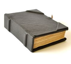 black leather journal notebook black leather diary by papirell