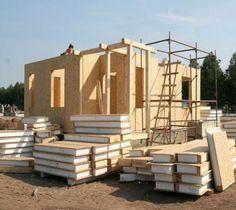 Модульный дом для дачи за 1000$ - 2дня строитества