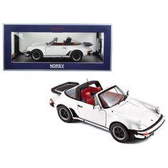 1987 Porsche 911 3.3 L Turbo Targa White 1/18 Diecast Model Car by Norev