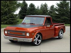 1969 Chevrolet C10 Custom Pick-Up.