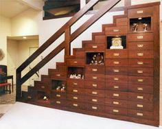 dual purpose staircase