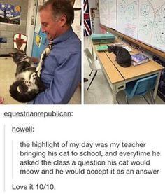 I want my teachers to do this too! - @nureesha
