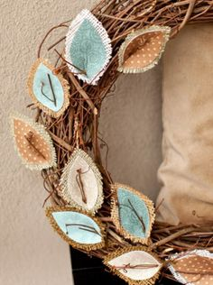 Check out this DIY fall burlap wreath - perfect for all the upcoming holidays! | Home Decor @ joann.com!