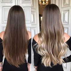 Fashionable hair color 2019 for long hair: The main directions and trends in the photo color directions fashionable photo trends LongHair 459578336976682765 Brown Blonde Hair, Brunette Hair, Dark Hair, Short Blonde, Hair Color Balayage, Ombre Hair, Hair Dye, Balayage Straight Hair, Long Hair Highlights