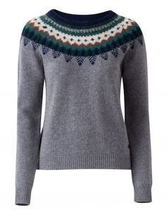 Lovely knitted pullover Keveon in various types of wool. Oilily fall/winter '16 collection.