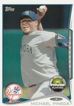 2014 Topps Power Players Code UNUSED #PP-208 Michael Pineda - New York Yankees