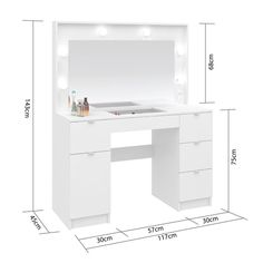Small Room Design, Home Room Design, Teen Room Decor, Home Decor Bedroom, Rangement Makeup, Dressing Table Design, Vanity Room, Makeup Room Decor, Closet Designs