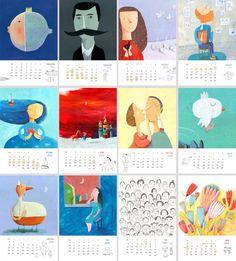 Calendar by Jenny Meilihove