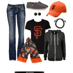 """Post Season Rally"" by emily-todd on Polyvore"