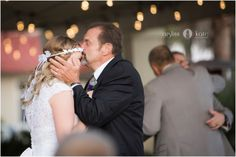Aislinn Kate Photography | wedding reception | just married | lights | reception dance | bride | wedding gown | white dress | lace dress