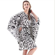 Hot Offer SpaRogerss Plus Size Women Nightgowns 2017 Ladies Sleepshirts For Mothers Fashion Batwing Casual Home Summer Female Robes YT7795 .....More Detail Please Click Link