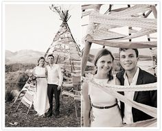 YES THAT IS A WEDDING TEEPEE