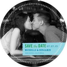 Cute save the date notice! Weddingpaperdivas.com