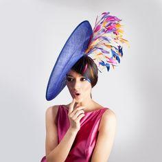 Royal Burst Katja Nuutinen Couture #hat #hautecouture #hatdesign #myphotography #beauty #lightning