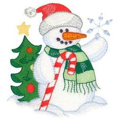 Shoply.com -Adorable Snowman with Candycane Machine Embroidery Design in 4 Sizes. Only $2.99 Machine Embroidery Projects, Applique Embroidery Designs, Free Machine Embroidery Designs, Ribbon Embroidery, Embroidery Ideas, Christmas Applique, Christmas Embroidery, Christmas Snowman, Christmas Stocking