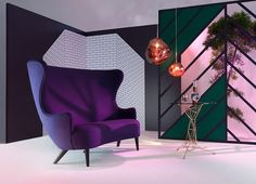 INTRODUCING THE NEW WINGBACK SOFA BY TOM DIXON A modern reincarnation of a 17th-century gentleman's club lounge, the two seater Wingback sofa is the latest update to Tom Dixon's most iconic furniture family. @arksf