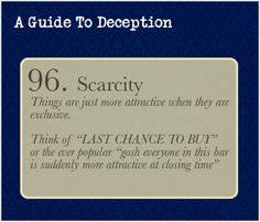 A Guide To Deception — Right but how can I use this? By makingyour...