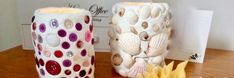 Zelfhardende klei met knoopjes, schelpen en pasta?oaapis=r75bfmaim56rdeq4ptut6fe907 Easy Crafts, Crafts For Kids, Home Deco, Diy For Kids, Pillar Candles, Candle Holders, Paper Crafts, Painting, Pasta