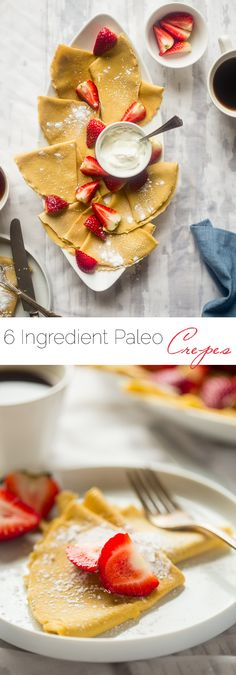 Paleo Crepes - These