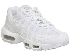 the best attitude e894c 4cc46 Nike Air Max 95 White Pure Platinum - Hers trainers