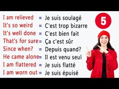 50 Phrases Courtes et Utiles en Anglais ✪ 50 Short and Useful English Phrases ✪ [Part 5] - YouTube French Words Quotes, Basic French Words, French Phrases, English Phrases, How To Speak French, French Language Lessons, French Language Learning, Learn A New Language, French Lessons
