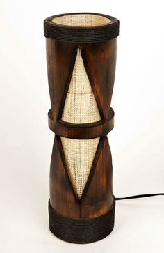Bamboo table lamp wooden lamp bamboo furniture night by bamboobg Bamboo Light, Bamboo Lamp, Bamboo Table, Bamboo Furniture, Farmhouse Furniture, Farmhouse Desk, Cheap Furniture, Discount Furniture, Office Furniture