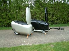 TourMAX Single Wheel Motorcycle Trailer