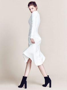 Barbara Palvin by Choi Yongbin for Harper's Bazaar Korea June 2015 - DIOR Pre-Fall 2015