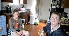 Mom Starts Filming Her 2 Shy Kids. Seconds Later? I Gasped. via LittleThings.com