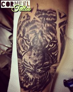 Tiger tattoo 😜
