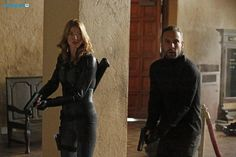 Bobbi Morse, Lance Hunter    AOS 2x10 What They Become    396x595    #promo #huntingbird    Higher quality available at source link