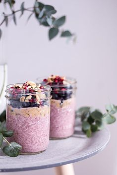 Beeriger Chia Pudding - Alpro H.A.P.P.Y Challenge