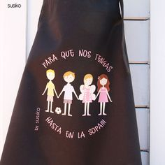 Regalos para profesores y profesoras, delantal para que nos tengas hasta en la sopa! Farewell Parties, Original Gifts, Teachers' Day, Teacher Appreciation Gifts, Ideas Para, Diy, Teaching, Education, School