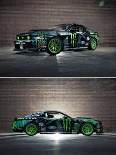 Gittin's new 2014 Mustang #FormulaDrift #VaughnGittinJr