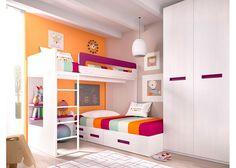 Habitación Infantil con Litera Block derecha