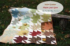 Indian Summer Maple Leaf Quilt