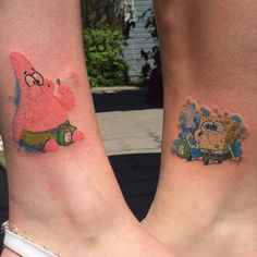 21 Adorable BFF Tattoos | Bff tattoos, Tattoo and Friend tattoos