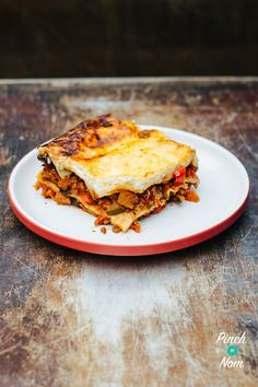 Lasagne | Slimming World & Weight Watchers Friendly - Pinch Of Nom Slimming World Lasagne, Pinch Of Nom, Syn Free, Slimming World Recipes, Calorie Counting, Pasta Dishes, Free Food, Nom Nom, Diet