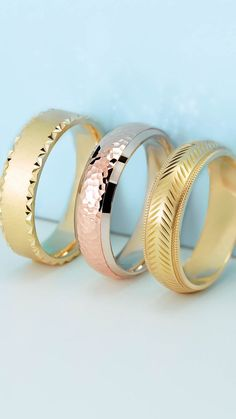 Axis Wedding Band Collection Features Yellow Gold, White Gold, Rose Gold, Two-Tone, & Platinum Designs. Choose a Hammered Finish, Herringbone Design, and more! Customize Your Bridal Band With Vandenbergs Fine Jewellery. Wedding Bands For Her, Bridal Bands, Wedding Rings, Fine Jewelry, Jewellery, Rings For Men, White Gold, Rose Gold, Engagement Rings